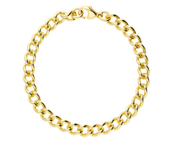 9ct Yellow Gold 6.20mm Heavy Close Curb Chain Bracelet