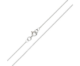 9ct White Gold 1.23mm Trace Chain