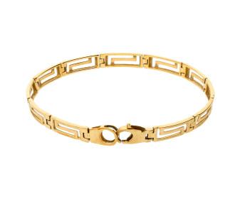 Pre-Owned Yellow Gold Fancy Bracelet