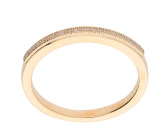 9ct Yellow Gold Diamond Eternity Ring