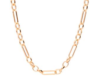 9ct Rose Gold 3.98mm Figaro Belcher Chain