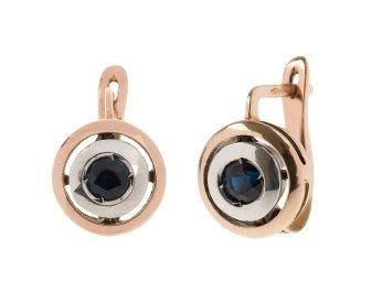 Handcrafted Italian Sapphire Drop Earrings