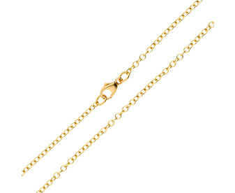 18ct Yellow Gold 2.19mm Trace Chain