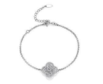 Sterling Silver Mini Cascade Bracelet