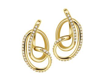 Sterling Silver Stone Set Serenity Stud Earrings