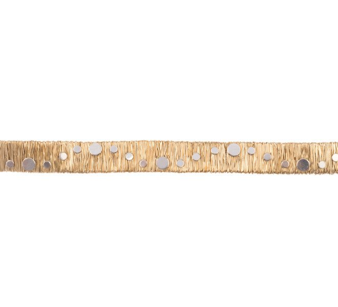 Pre-owned 14ct Gold Italian Bracelet