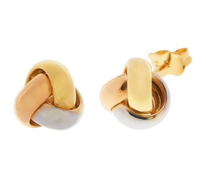 7cd2ff1a5 Rose Gold Knot Earrings Uk - Best All Earring Photos Kamilmaciol.Com