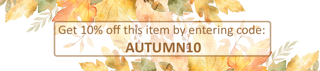 Get 10% off this item enter code AUTUMN10
