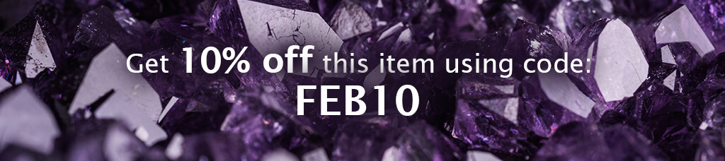Get 10% off this item enter code FEB10