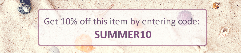 Get 10% off this item enter code SUMMER10