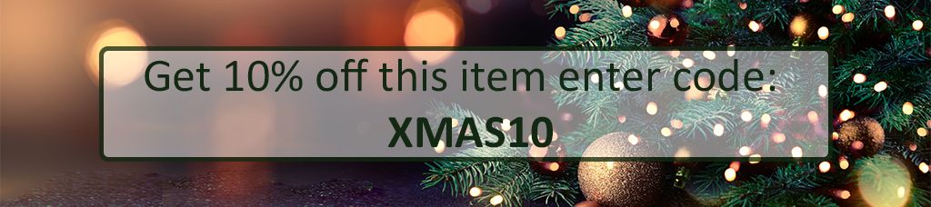 Get 10% off this item enter code XMAS10